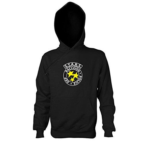 TEXLAB - RE: S.T.A.R.S. Logo - Herren Kapuzenpullover, Größe M, (5 Resident Kostüme Evil Pc)