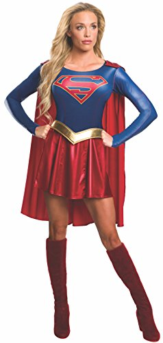 Supergirl TV Series Costume Dress Adult Medium