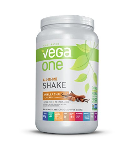 Vega One All-in-One Nutritional Shake, Vanilla Chai, 30.8 Ounce by Vega