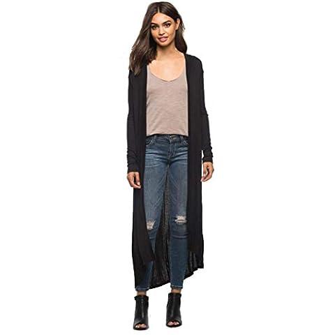 LILICAT Damen Cardigan Casual Große Größe Mode Frauen Strickjacke Elegant