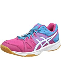 Asics Zapatillas Performance Gel-Game 4 Gs Blanco/Rojo EU 35 (US 3)