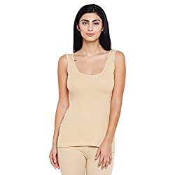 Neva Women Solid Thermal Tops Skin Coloured XXXX-Large