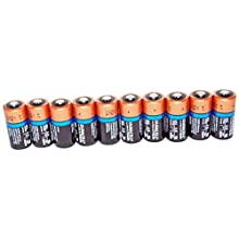 Duracell CR123BU Lot de 10 piles lithium ultra 123