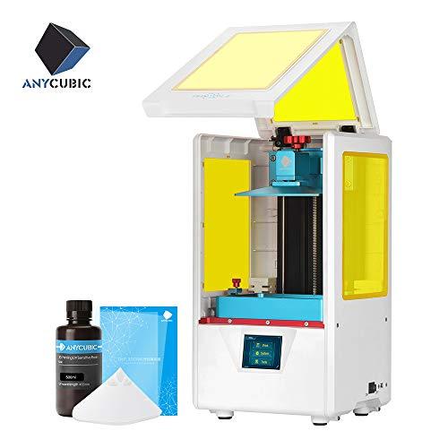 ANYCUBIC Photon S LCD Resin 3D Drucker 115x65x165mm Druckgröße 405nm 2K Bildschirm offline Druck Weiss