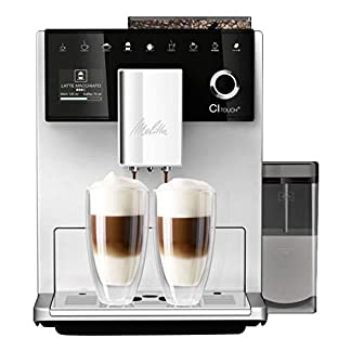 Melitta-Touch-Kaffeevollautomat-mit-Milchbehlter-Flsterleises-Mahlwerk-One-Touch-Funktion