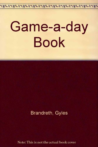 A game a day book.
