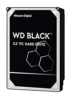 "WD Black - Disco Duro Interno (6 TB, 3.5"" HDD, SATA III 6 GB/s, 7200 RPM, 256 MB Cache) Color Negro (B0792GSD6N) 