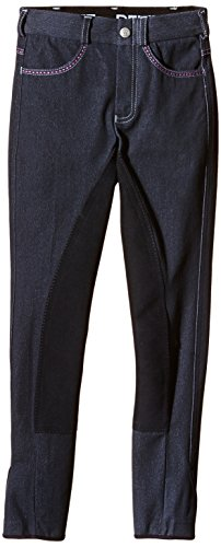 PFIFF Kinder Reithose Dina Jeans, Blau (Navy), 146, 101655-20 (Reiter Jeans)