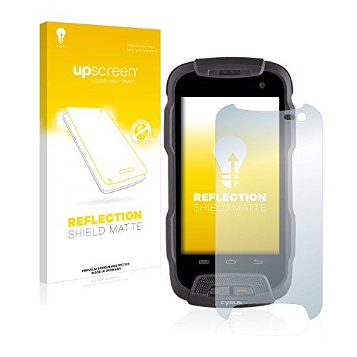 upscreen Matt Schutzfolie für Cyrus CS 23 – Entspiegelt, Anti-Reflex, Anti-Fingerprint