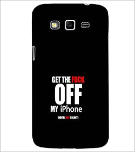 PrintDhaba Quote D-1247 Back Case Cover for SAMSUNG GALAXY GRAND 2 (Multi-Coloured)