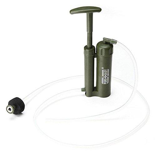 pawaca Outdoor Wasser Luftreiniger, mini tragbarer Virus, 2000L Wasser Reinigung für Wandern/Camping/Klettern/Notfall/Outdoor Sports, Wasser Filter Stroh mit 0,1Micron Luftreiniger, Wasser Filtration System.