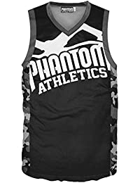 Phantom Athletics Tank Top Evo Supporter 2.0 – Black/Camo – Camiseta de fitness, Muscle Camiseta MMA camiseta, Tank Top, fitness Camiseta, Black/Camo