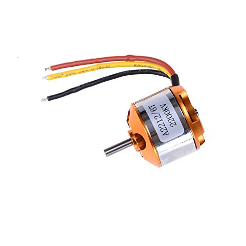 A2212 2200KV Brushless Motor (7,4-11,1V) 47gr!