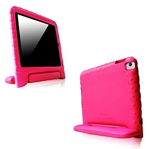 Fintie iPad Air 2 Kinder Hülle - Ultra-leichte, stoßfeste und kinderfreundliche EVA Ständer Schutzhülle Tasche Case Cover mit Drehbar Handgriff für Apple iPad Air 2 (2014 Modell), Magenta (Cellular Ipad 64 2 Air)