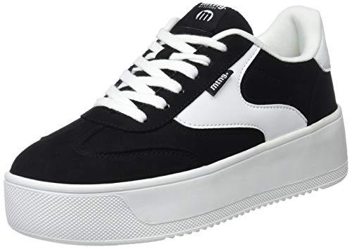 d603ee43 MTNG Attitude 69180, Zapatillas para Mujer, (Softy Negro/Action PU Blanco  C39788