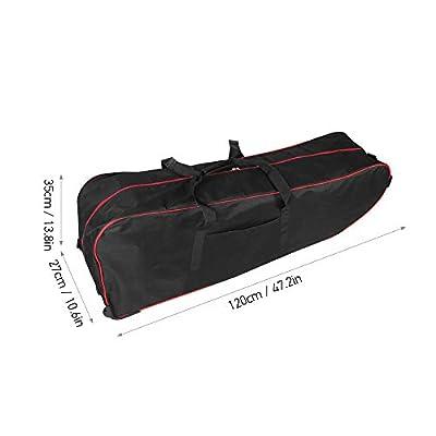 Lixada Rucksack Tragbare Scooter-Tasche, Faltbare Scooter-Tragetasche mit großer Kapazität für die 10-Zoll-Rollertasche mit Rollen