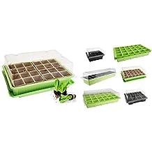 Mini-invernadero o bandejas de cultivo, varios diseños disponibles, invernadero interior, macetas
