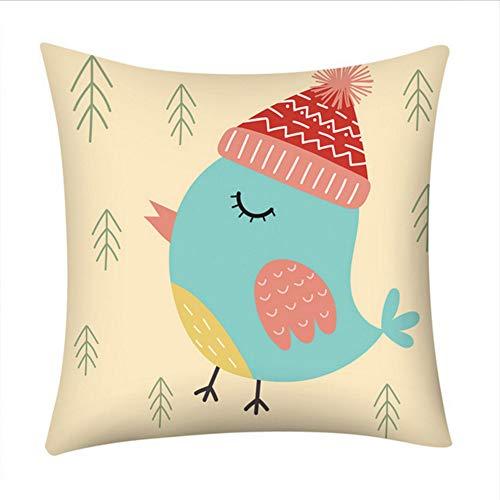 Zfkdsd copricuscino decorativo natalizio cuscino decorativo per la casa cuscino per animale stampato federa