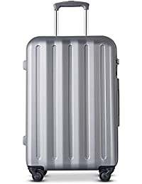 Z/&YY Aluminum Frame Trolley case Caster Luggage for Men and Women Boarding The Chassis Color : White, Size : 26 inches 20 inches, 24 inches, 26 inches, 28 inches