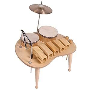 Performance Percussion PP531 Table de Musique avec Wood block