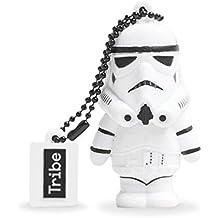 Star Wars Chiavetta USB 8 GB Stormtrooper - Memoria Flash Drive 2.0 Originale Disney, Tribe 8034135431622