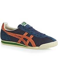 sports shoes ff68c 8b5c7 Asics ONITSUKA TIGER CORSAIR VINTAGE Chaussures Mode Sneakers Homme Bleu  Orange