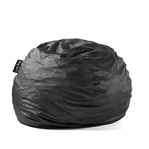 Big Joe Fuf Foam Filled Bean Bag Chair Sitzsack, Textil, schwarz, Large