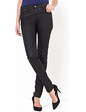 La Redoute Collections Donna Pantaloni Slim 5 Tasche, Cotone Stretch Spalmato