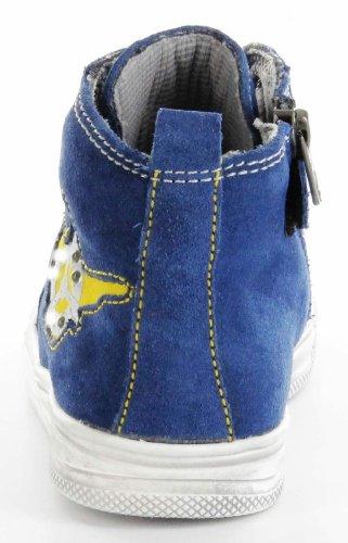 Richter Kinderschuhe  7742-321-6811 - blau, Chaussures de ville à lacets pour garçon Bleu - Bleu