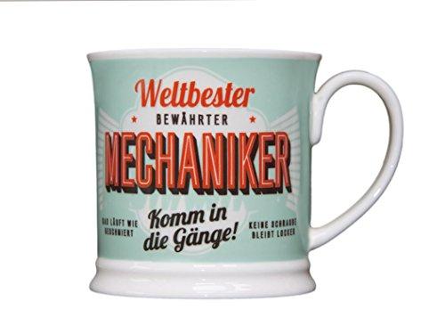 H & H 195000061 Becher, Porzellan, Mehrfarbig, 12 x 8,7 x 8,7 cm