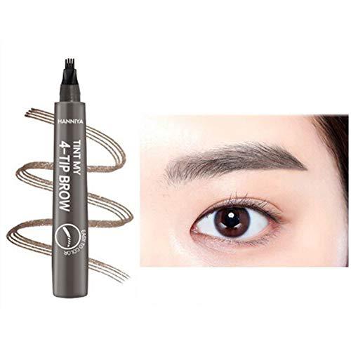 NAttnJf 2ml Impermeable 4 puntas Líquido Eyebrow