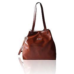 MIRABEL MIR20_BROWN Ikerne Women's Handbags