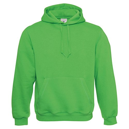 B&C Coleection -  Felpa  - Uomo Real Green Medium