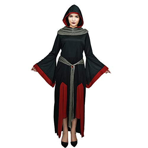 ZAOWEN Halloween Kostüm Frauen Teufel Schwarz Kostüm Gothic Schwarz Hexe Kleid Für Frauen Halloween Kleid Cosplay - Bilder Von Weiblichen Teufel Kostüm