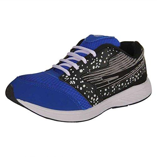 Aircum Men's Blue Running Shoes - 8