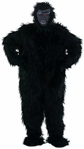 Limit Sport MA067 Gr. XL - Schwarzer Gorilla 2-teilig (Anzug Komplett- Hut) (Yeti-kostüm Kinder)