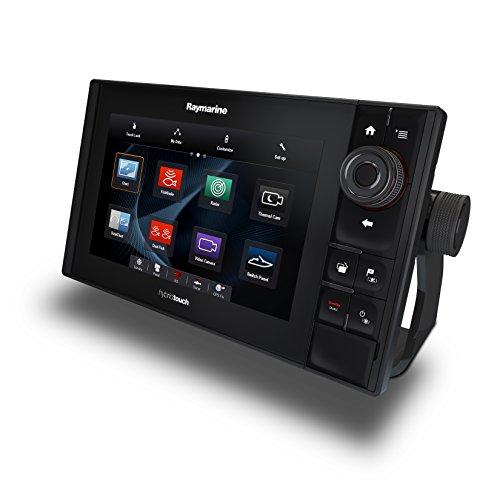 Raymarine E70275-CANZ ES-Serie ES98 Hybrid Touch Multifunktionsdisplay mit Down Vision Fischfinder (22,9 cm (9 Zoll), WiFi, C-MAP AUS/NZ Essentials Karte)