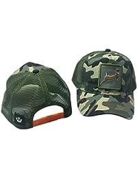 SimpleLife Sombrero Unisex del Bordado del algodón del Acoplamiento del  algodón Gorra de béisbol Camionero Hat 624b2cd7b2d