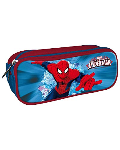 Portatodo Spiderman Marvel 3 cremalleras