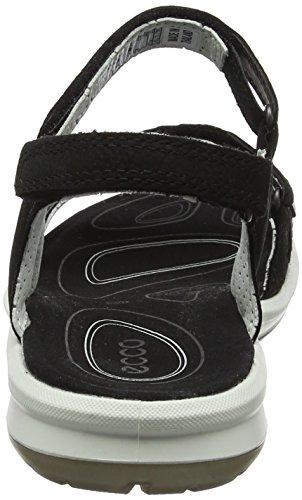 Ecco Cruise II, Sandali da Arrampicata Donna Nero (Black/black)