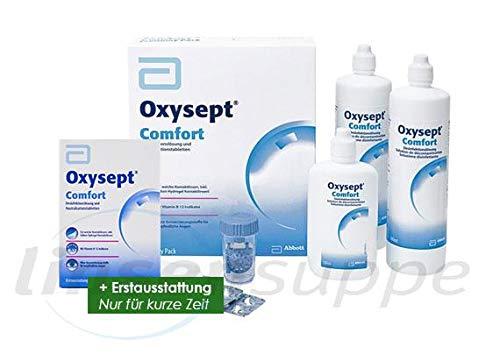 AMO Oxysept Comfort Peroxid-System Economy Pack, (2 x 300 ml)