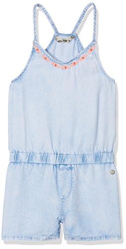 Garcia Kids Mädchen Latzhose P82688, Blau (Blue Bleach 1252), 152 (Herstellergröße: 152/158)