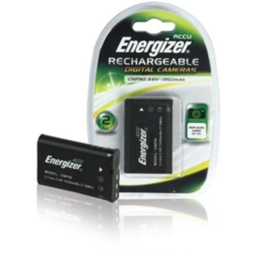 Energizer Foto Li-Ion Akku ähnlich Casio NP-90 für Casio Exilim Hi-Zoom EX-H10/EX-H15 (1950mAh) Energizer Digitale Camcorder