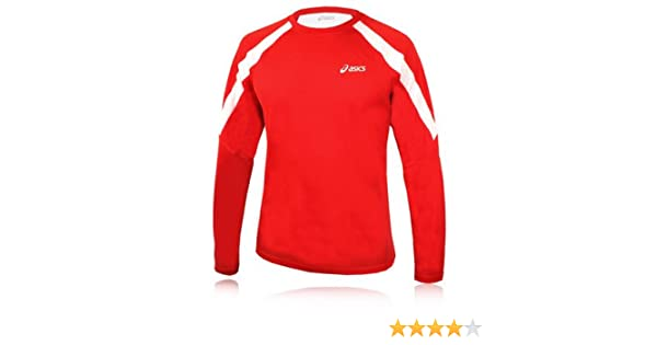 Activewear Asics Sweat Ben Longsleeve Running Top Tee Gym Shirt Sports Top Goods Of Every Description Are Available Men's Clothing
