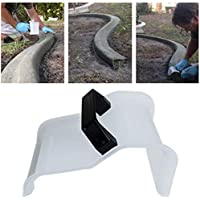 xluckx Paleta de hormigón, Paleta de hormigón para el hogar con Mango de plástico para pavimento de césped de Camino de Paisaje de jardín