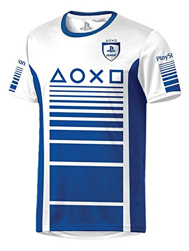 Produktbild Playstation Trikot T-Shirt blau XL