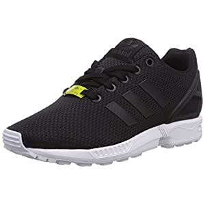 Adidas Unisex Kids Zx Flux K M21294 Trainers, Black (Black/Black/Footwear White), 3.5 Child UK 36 EU