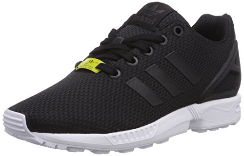 adidas ZX Flux, Unisex-Kinder Sneakers, Schwarz (Black/Black/Ftwr White), 40 EU (6.5 Kinder UK)