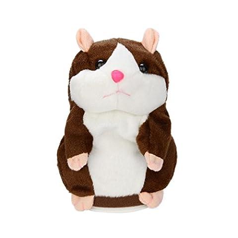 jouets pour enfants, SHOBDW Adorable Interessant Speak Talking Record Hamster