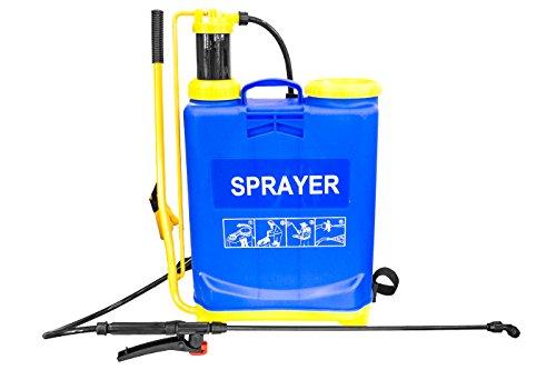 Bomba de hombro Rociador A presión nebulizador Agua de jardín, 20L
